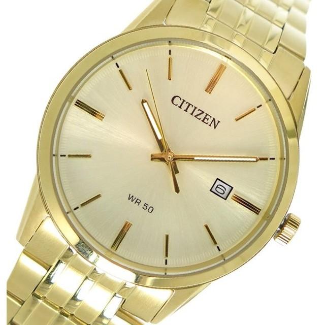 353dbfe079 シチズン CITIZEN クオーツ メンズ 腕時計 BI5002-57P ゴールド ゴールド ...