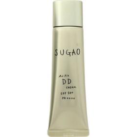 アウトレット SUGAO(スガオ) エアーフィット DDクリーム 02ピュアオークル 25g SPF50+・PA++++ ロート製薬