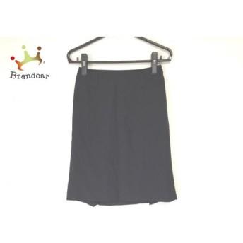 バーバリーブラックレーベル Burberry Black Label スカート サイズ38 M レディース 黒 スペシャル特価 20190822
