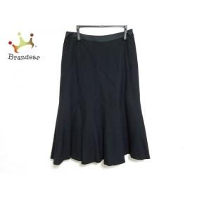 ニジュウサンク 23区 スカート サイズ38 M レディース 黒   スペシャル特価 20190909