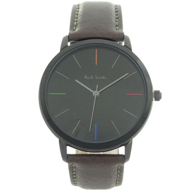 ポールスミス PAUL SMITH エムエー MA クオーツ メンズ 腕時計 P10090 ブラック ブラック