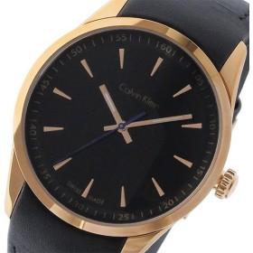カルバン クライン CALVIN KLEIN ボールド BOLD クオーツ メンズ 腕時計 K5A316.C1 ブラック ブラック