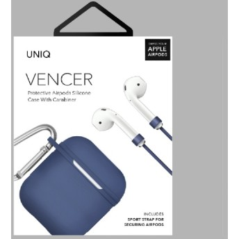 VENCER Protective AirPods シリコンケース BL