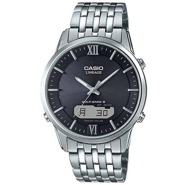 カシオ CASIO リニエージ LINEAGE メンズ 腕時計 LCW-M180D-1AJF 国内正規 ブラック