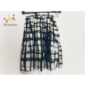 マテリア MATERIA スカート サイズ38 M レディース 白×黒 新着 20190528