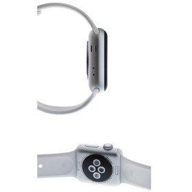 11e071ef1f アップルウォッチ Apple Watch series 2 38mm スマートウォッチ シルバーケース/ホワイトスポーツバンド