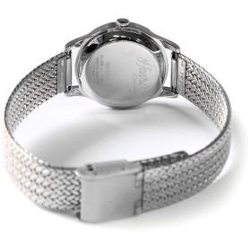 ヘンリーロンドン HENRY LONDON エッジウェア 25mm メッシュ レディース 腕時計 HL25-M-0013 ホワイト/シルバー ホワイト