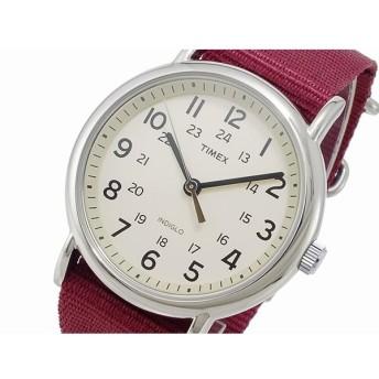 タイメックス TIMEX ウィークエンダー セントラルパーク クオーツ メンズ 腕時計 T2P235 クリーム