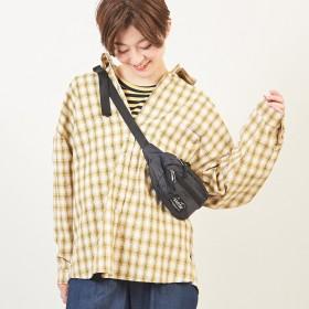 シャツ - TOTTY チェック ビッグシルエットシャツ