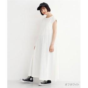 メルロー フレンチスリーブカットワンピース レディース オフホワイト FREE 【merlot】