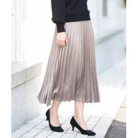 シャイニープリーツスカート【お取り寄せ商品】