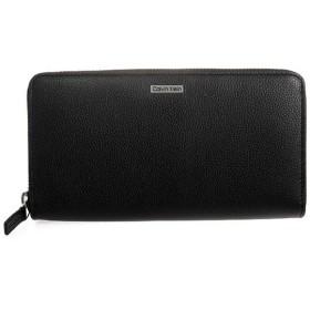 カルバンクライン Calvin Klein ラウンドファスナー メンズ 長財布 79441 ブラック ブラック