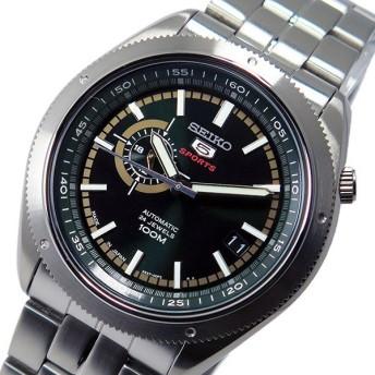 セイコー SEIKO セイコー5 SEIKO5 スポーツ 自動巻き メンズ 腕時計 SSA063J1 ダークグリーン ダークグリーン