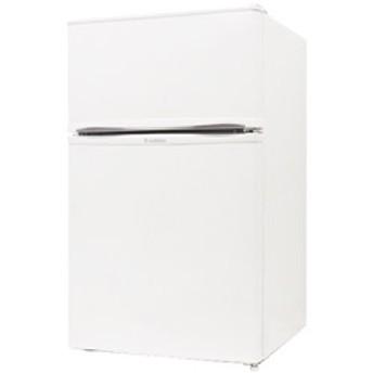 2ドア冷蔵庫 90L ホワイト R-90WH