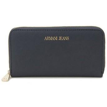 アルマーニジーンズ ARMANI JEANS ラウンドファスナー 長財布 928532-CC857-00335 ブルー ブルー