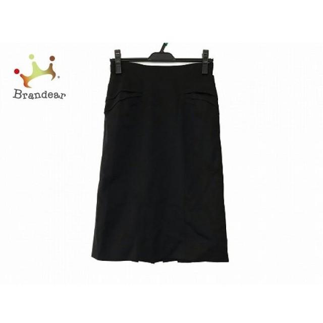マテリア MATERIA スカート サイズ38 M レディース 美品 黒 リボン   スペシャル特価 20190909