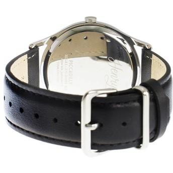 ヘンリーロンドン HENRY LONDON ピカデリー 41mm ユニセックス 腕時計 HL41-JS-0081 シルバー/ブラック シルバー