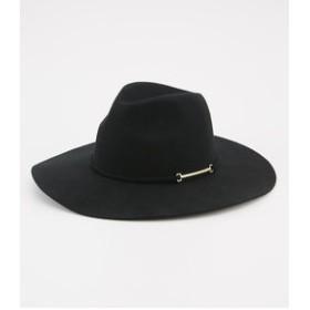 【rienda:帽子】ワイドブリムウールHAT