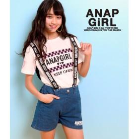 【セール開催中】ANAP GiRL(ティーンズ)ロゴサスショートパンツ