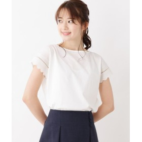 index(インデックス) 袖刺繍デザインプルオーバー