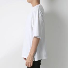 Tシャツ - MARUKAWA プレイボーイ Tシャツ メンズ 夏 ロゴ 刺繍 ビッグ シルエット 半袖 ホワイト/ブラック/ベージュ M/L/XL【ティーシャツBIG T ストリート アメカジ カジュアル】