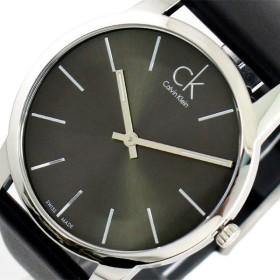 カルバンクライン CALVIN KLEIN 腕時計 メンズ K2G21107 シティー CITY クォーツ メタルブラック ブラック ブラック