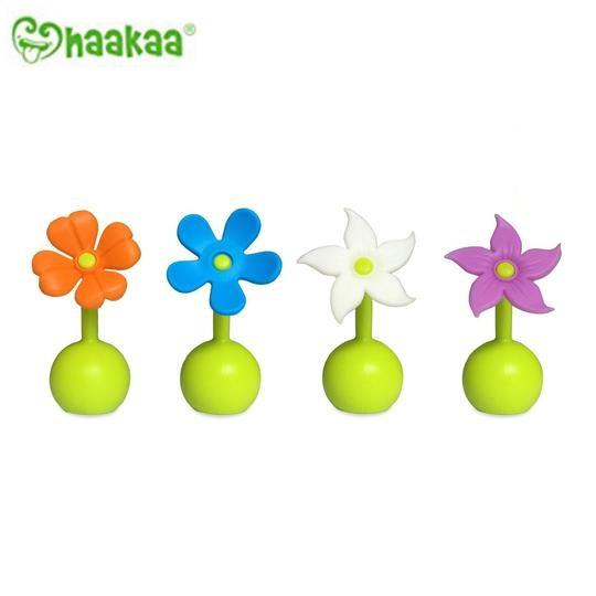 紐西蘭Haakaa 第二代真空吸力小花集乳器配件 小花瓶塞