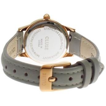 クルース CLUSE ラ ヴェデット La Vedette R.GD WT-GY 24mm 腕時計 CL50009 ホワイトローズゴールド ホワイト