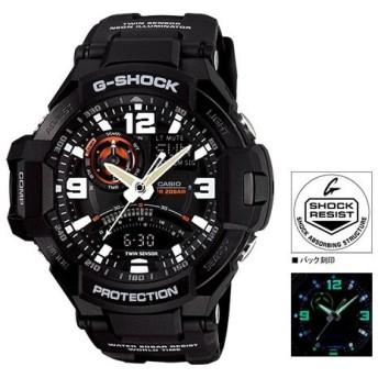 カシオ CASIO Gショック スカイコックピット 腕時計 GA-1000-1AJF 国内正規 ブラック