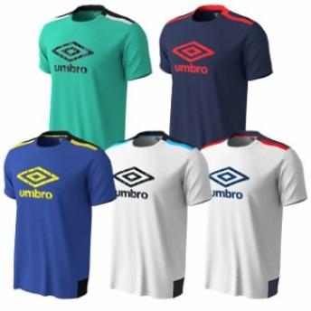 【アンブロ】 TR DRY-SONIX プラクティス シャツ サッカー フットサル トレーニングウェア Tシャツ メンズ グリーン ブルー ネイビー ホ