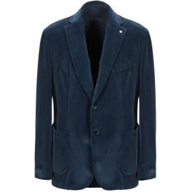《セール開催中》L.B.M. 1911 メンズ テーラードジャケット ブルー 52 コットン 100%