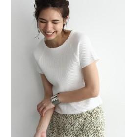 OZOC / オゾック [洗える]ワッフルカットオフTシャツ