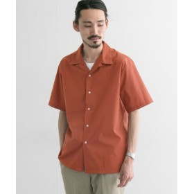 【40%OFF】 アーバンリサーチ ソロテックス/リネン オープンカラーショートスリーブシャツ メンズ TERRACOTTA M 【URBAN RESEARCH】 【セール開催中】