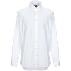 《期間限定セール開催中!》BASTONCINO メンズ シャツ ホワイト 44 コットン 100%