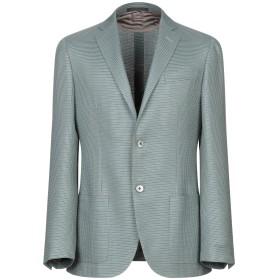 《期間限定セール開催中!》CORNELIANI メンズ テーラードジャケット ライトグリーン 50 バージンウール 62% / シルク 38%