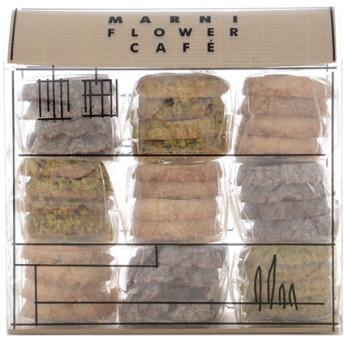MARNI FLOWER CAFE ビスケットハウス ピッコロ 3F ミックス(ビスケット小9袋) マルチ F