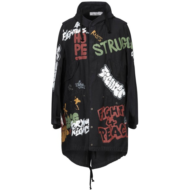 《期間限定セール開催中!》FAITH CONNEXION メンズ コート ブラック XS コットン 100%