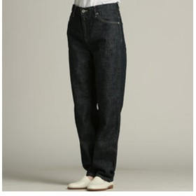 【J Lounge:パンツ】綿麻デニムパンツ