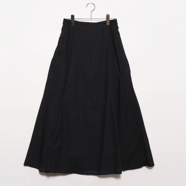 スタイルブロック STYLEBLOCK スラブガーゼマーメイドスカート (ブラック)