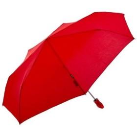 (BACKYARD FAMILY/BACKYARD FAMILY)クニルプス Floyd Duomatic リングハンドル自動開閉折りたたみ傘/レディース レッド