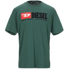 《セール開催中》DIESEL メンズ T シャツ ダークグリーン S コットン 100%