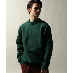 (JOURNAL STANDARD/ジャーナルスタンダード)CAMBER/キャンバー THERMAL-LINED CREW NECK/メンズ グリーン 送料無料