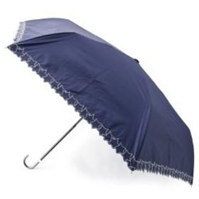 スープ(SOUP)/晴雨兼用スター刺繍折り畳み傘