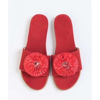 【30%OFF】 ピシェアバハウス ★ne Quittez pas FLOWER S レディース RED 37 【PICHE ABAHOUSE】 【セール開催中】