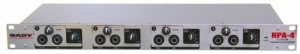 Nady HPA-4 Four-Channel Headphone Amplifier//Line Distributer
