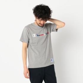 [マルイ]【セール】【CHAMPION/チャンピオン】ロゴ刺繍Tシャツ C3-H371/フレディ&グロスター メンズ(FREDY&GLOSTER)
