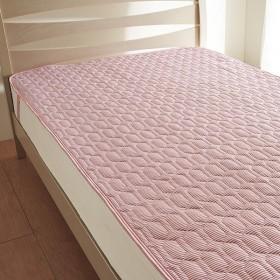 西川リビング 2072-02383 ひんやり敷きパッド ピンク