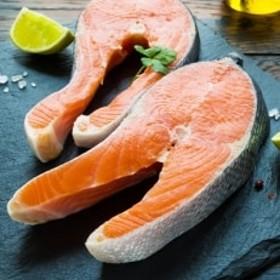 【北海道宗谷産】生鮭切身ステーキセット (4パック入)