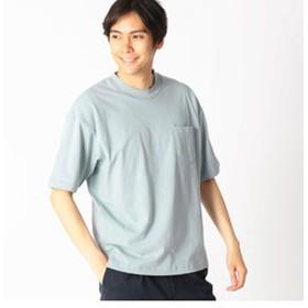 【COMME CA ISM:トップス】日本の伝統色 ポケット付 Tシャツ