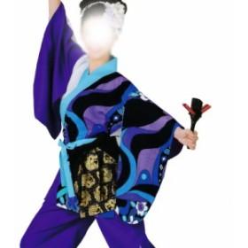 よさこい衣裳 上衣 柄 C73004【よさこい/踊り衣裳/お祭用品/まつり用品/お祭り】